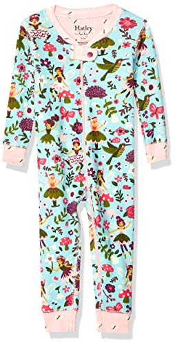 Hatley Baby Girls Organic Cotton Sleepers, Forest Sprites, 12-18 -