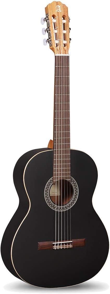 Guitarra Clásica Alhambra 1C Black Satin: Amazon.es: Instrumentos ...