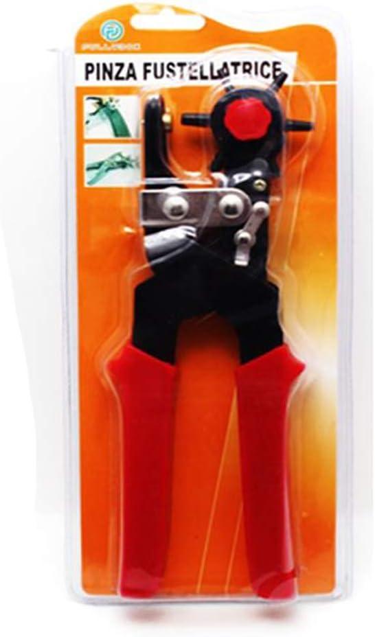 Pinza fustellatrice varie misure buchi diametro cinte borse fettucce cuoio casa