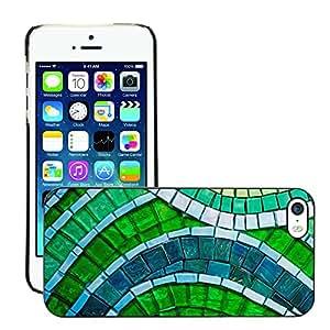 Print Motif Coque de protection Case Cover // M00155728 Fondo verde del papel pintado Macro // Apple iPhone 5 5S 5G
