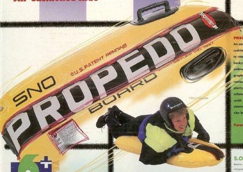 SportsStuff Propedo Sno Bodyboard for Winter Snow & Summer Water Sports (Sportsstuff Tube Sports)