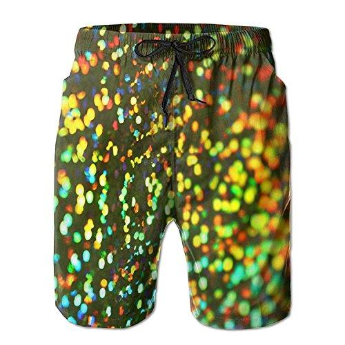 Womens Dazzle Softball Shorts - LLiopn Men's Dazzle Colour Abstract Pattern Swim Trunks Boardshorts with Pokets Beach Shorts XX-Large