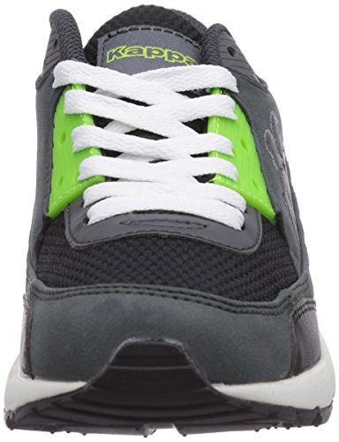 Kappa HARLEM unisex Unisex-Erwachsene Sneakers Grau (1633 grey/lime)