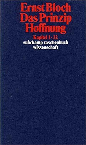 Das Prinzip Hoffnung - 3 Bände (suhrkamp taschenbuch wissenschaft)