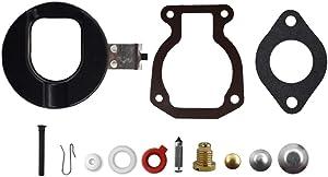 labwork 398453 Carburetor Repair Kit w/Float Replacement for Johnson Evinrude 9.9 HP 15 HP 1974-1988