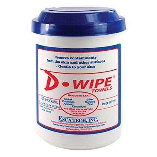 D LEAD WT-150 D-Wipe Towels 150 CNT 8/CS ()
