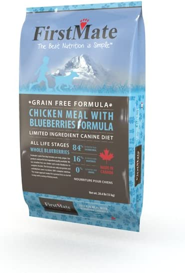 Firstmate Pet Foods Chicken With Blueberries Dog Food