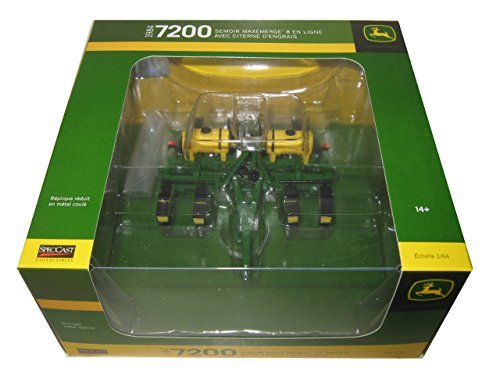 - John Deere 1984 7200 8 Row Maxemerge Planter with Fertilizer Tanks 1/64 by Speccast JDM259