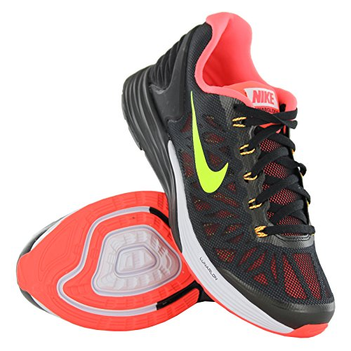 Nike Lunarglide 6 Black Youths Trainers - 654155-004
