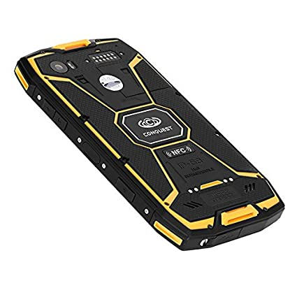 Good Conquest S9 Rugged Smartphone   Android OS, IP68, Octa Core CPU, 5.5