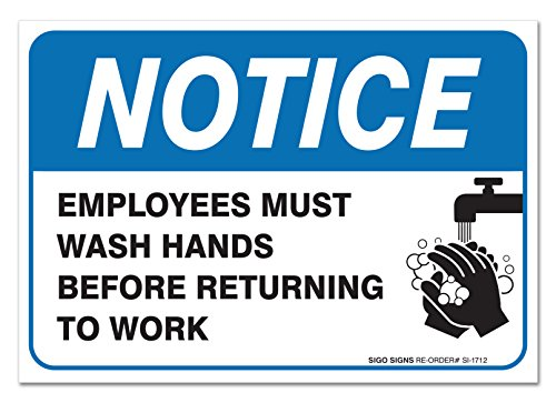 Employees Hands Stickers Indoor Outdoor