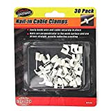 48 30 Pack nail-in cable clamps