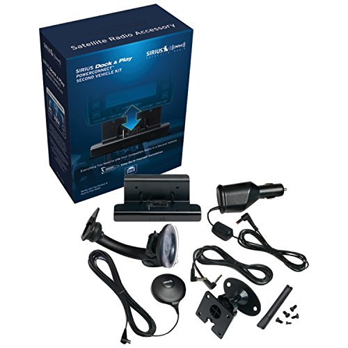 SIRIUS-XM SADV2 Sirius Universal Dock & Play Vehicle Kit wit