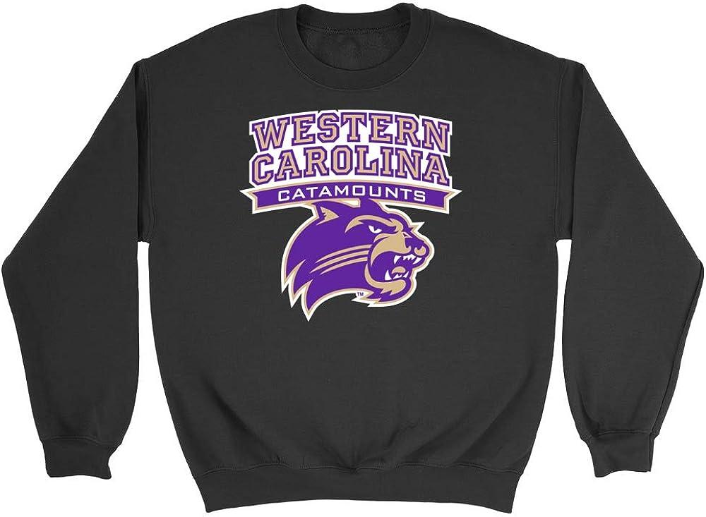 Western Carolina Youth Purple Fleece Hoodie Track and Field Shoe Design