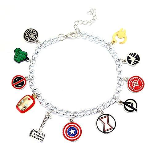 Price comparison product image Avengers Themed Charm Bracelet (Avengers)