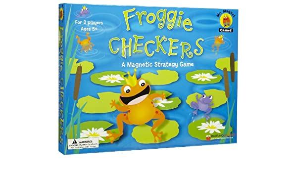 Dowling Magnets Froggie Checkers DO-737102 DOW-026
