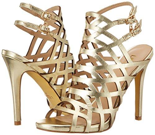 36 S17001 Shoes Cuir Jo Liu Sandale Femme P0045 Jaune q618B