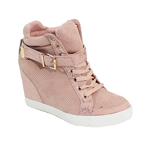 Montante By Femme Basket Style Shoes Daim wZrcZUEq