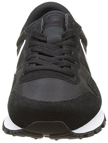 Nike Air Pegasus 83, Zapatillas de Running para Hombre Negro (Black / White-Pure Platinum-White)