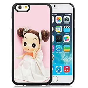 New Personalized Custom Designed For iPhone 6 4.7 Inch TPU Phone Case For Cute Little Barbie 01 Phone Case Cover wangjiang maoyi