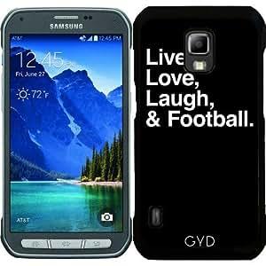Funda para Samsung Galaxy S5 Active - Risa Viva Del Amor Y El Fútbol by wamdesign