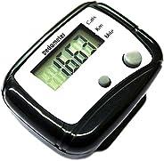 RETYLY Digital LCD Pedometer Pocket Counter Walking Black