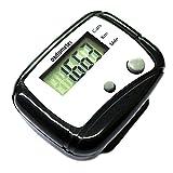 SODIAL(R) Digital LCD Pedometer Pocket Counter Walking Black