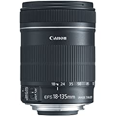 The Canon EF-S 18-135mm f/3.5-5.6 IS standard zoom lens offers a winning combination of size, range and features and is a perfect complement to APS-C cameras. With high-quality optics, dedicated image stabilization and more, this new lens pro...