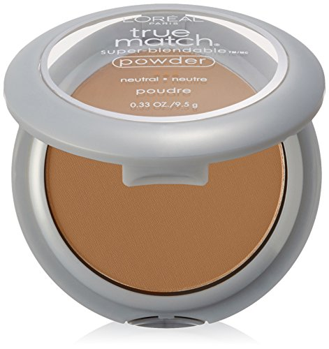 L'Oréal Paris True Match Super-Blendable Powder, Nude Beige, 0.33 oz.