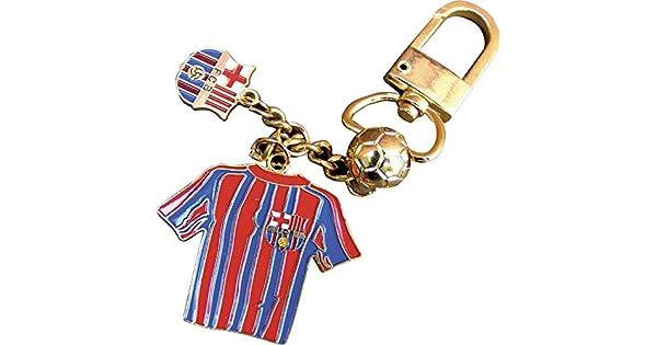 Amazon.com: Llavero oficial del FC Barcelona de 3 piezas con ...