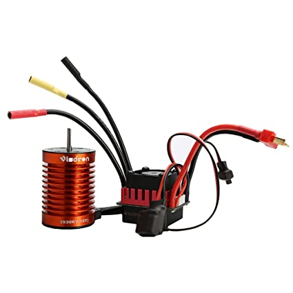 TKI-S Rc Toy Accessories Fully Waterproof Brushless Motor for High Purity  Copper Winding Power Conversion for 1:10 Size Flat Road Sports Cars and