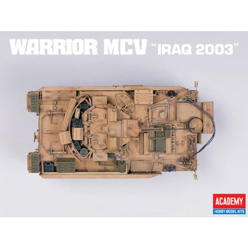 Academy Warrior MCV 'Iraq 2003' Military Land Vehicle Model Building Kit by Academy Models (Image #2)