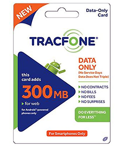 Tracfone Data 300mb Pin Add-On (Data Only For Android Smartphones)
