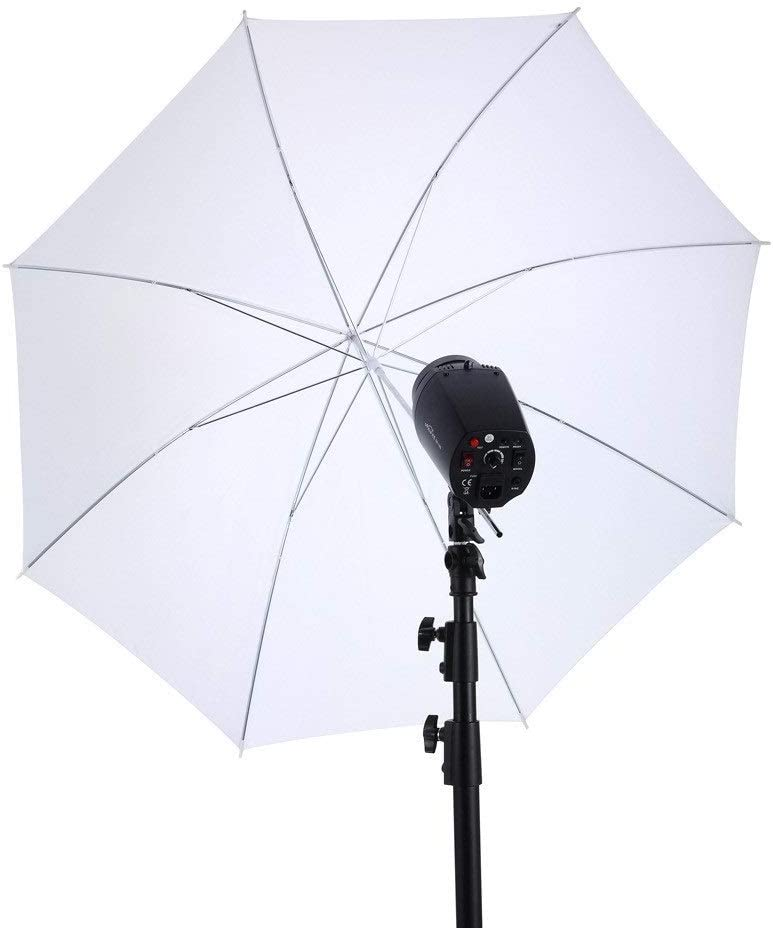 Light Reflector Diffuser Direct Soft Umbrella Multi-Disc Light Reflector Umbrella With 8-strand Umbrella Stand Design Portraits Object Product Shooting 40-inch Suitable For All Studio Flashes for Stud