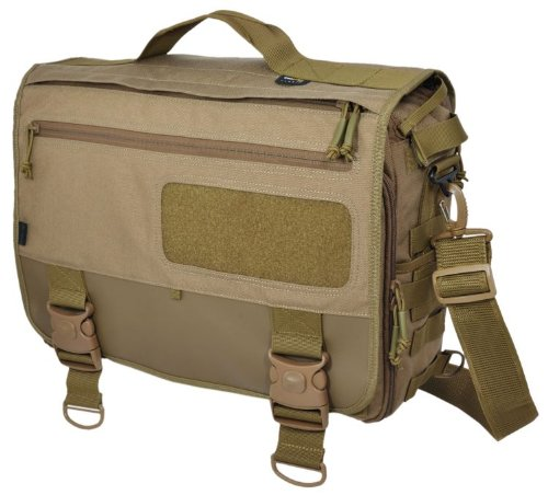 HAZARD 4 MOD(TM) Laptop-Messenger/Briefcase/Go-Bag w/MOLLE - Coyote
