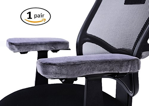Comforfeel Chair Arm Covers and Foam Elbow Pillow Armrest Cushoin Pads for Home or Officer Chair by Comforfeel