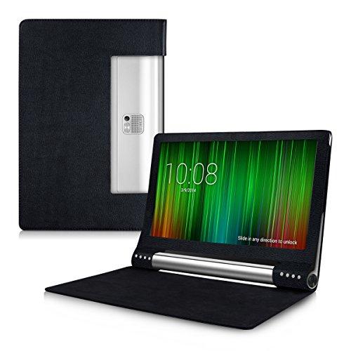 kwmobile Hülle für Lenovo Yoga Tablet 2 Pro 13 (1380) mit Ständer - Kunstleder Tablet Case Cover Tasche Schutzhülle in Schwarz