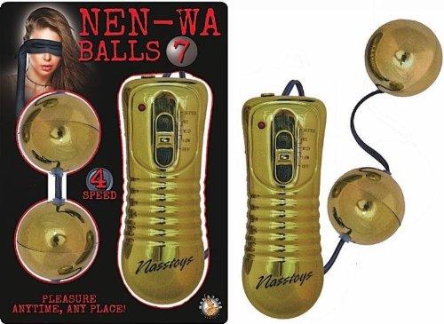 Nasswalk Novelties By Nasswalk Nen Wa Balls 7 Gold