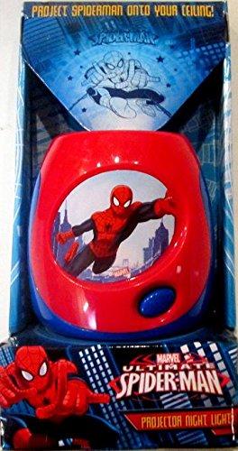 Marvel Ultimate Spider-Man Proyector luz de Noche: Amazon.es: Hogar