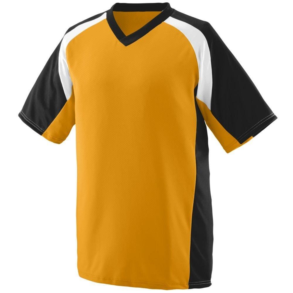 Augusta SportswearメンズNitro Jersey B00HJTMVJS XXX-Large|ゴールド/ブラック/ホワイト ゴールド/ブラック/ホワイト XXX-Large