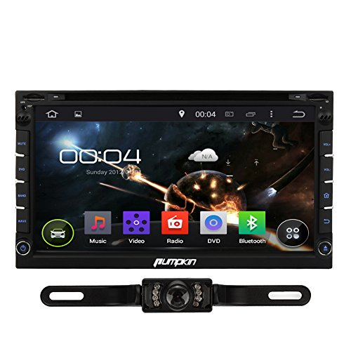 Pure android 4 2 car stereo dvd player cpu 1 6ghz ddr3 1gb memory 8gb - Pumpkin Car Stereo Android In Dash Gps Navagation Radio