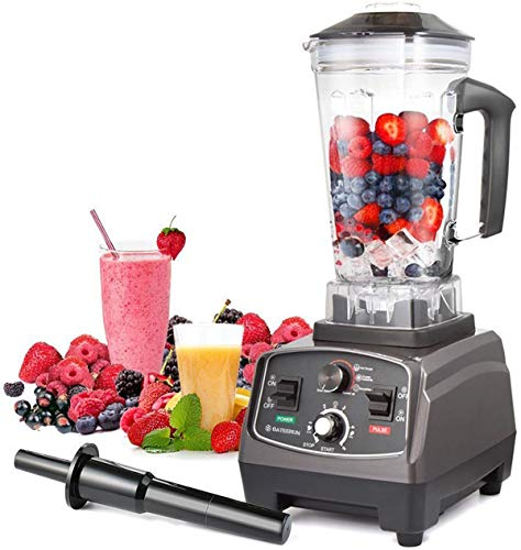 Blender Professional Countertop Blender, 2000W High Speed Smoothie Blender/Mixer for Shakes and Smoothies, commercial blender Crusing Ice, Frozen Desser with Timer, 68OZ BPA-Free Tritan Jar, Smoothie Maker BATEERUN