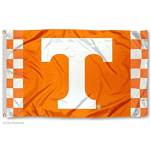 - College Flags and Banners Co. Tennessee Volunteers Checkerboard Flag