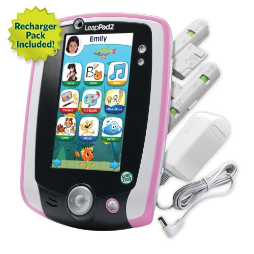LeapFrog LeapPad2 Power Learning Tablet, Pink by LeapFrog (Image #6)