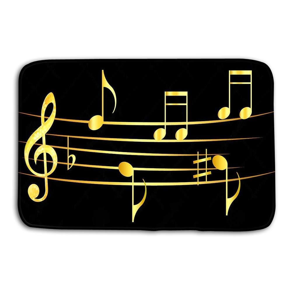 Amazon Com Yugfhj Doormat Indoor Outdoor Abstract Music