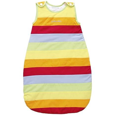 JoJo Maman Bébé – Saco de dormir ligero para bebé, arcoiris multicolor arcoíris Talla: