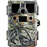 Hunting Trail Camera, LESHP 12 million PX Waterpfoof HD 8-in-1 multi-function Trail Camera for Hunting with Infrared Night Vision Digital Hunting Game Trail Scouting to lure animals Camera