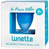 Lunette Menstrual Cup, Blue, Model 1