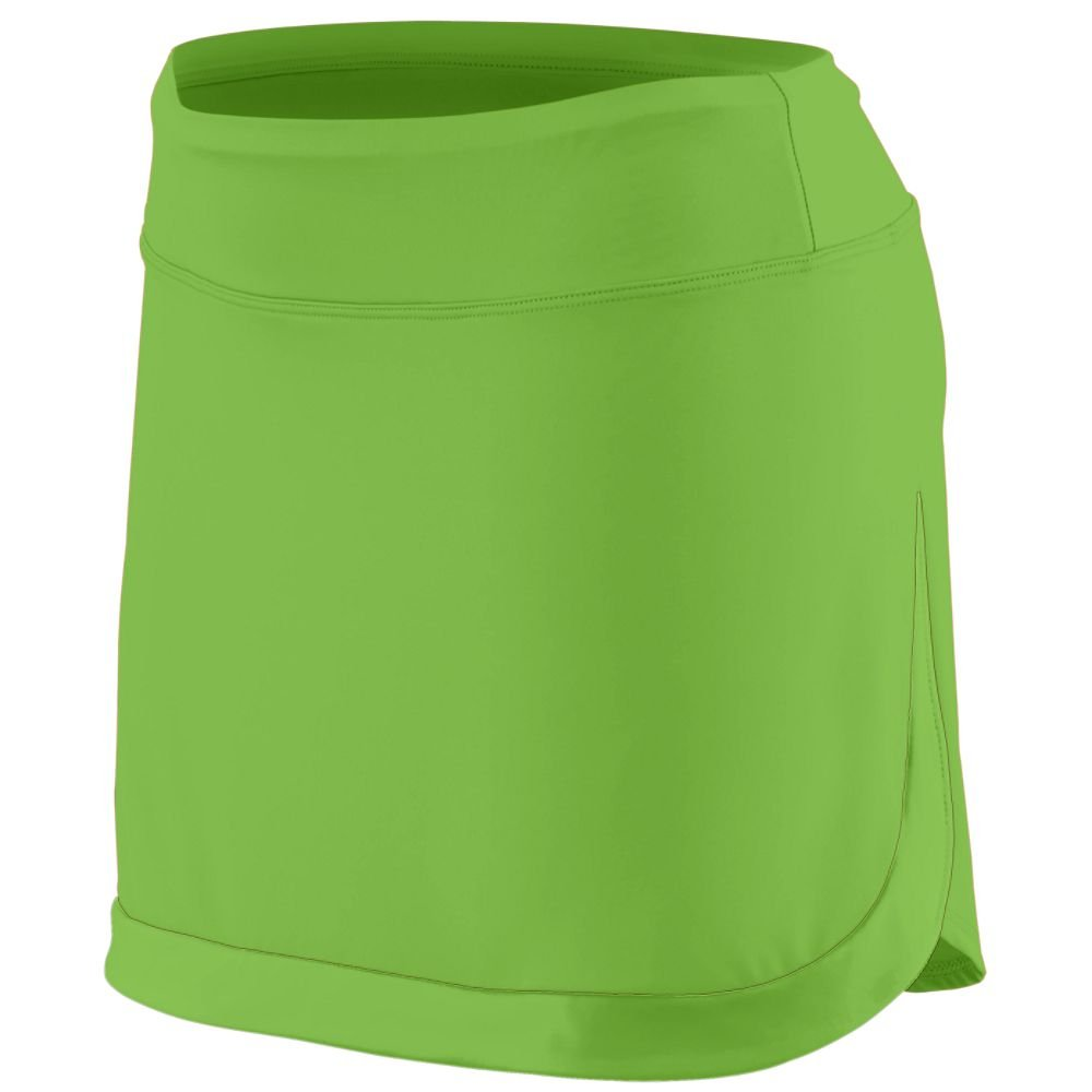 Augusta Sportswear Women'S Action Color Block Skort L Lime/Lime
