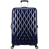 Antler Liquis 28' Expandable Hardside Checked Spinner Luggage